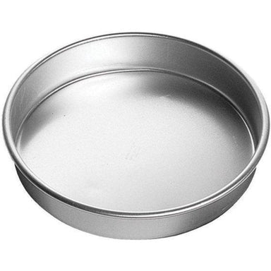 "ROUND ALUMINUM SHALLOW BAKING PAN 9x2""-Consiglio's Kitchenware"