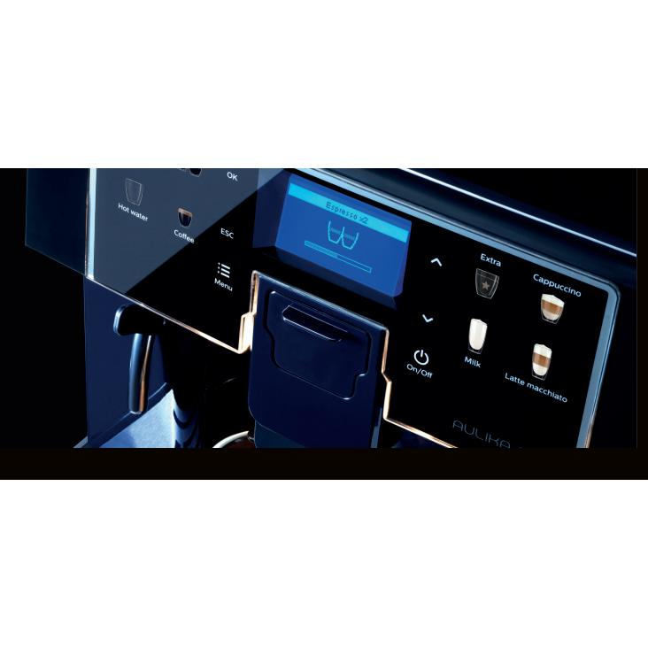 Saeco Aulika EVO Office Coffee Espresso Machine interface