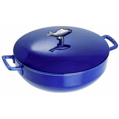 Staub - 4.75L Dark Blue Bouillabaisse Pot-Consiglio's Kitchenware