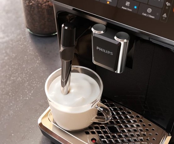 Philips Saeco 4300 Fully Automatic Espresso Machine with Classic Milk Frother - EP4321/54