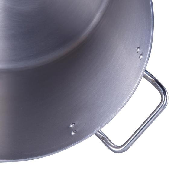 Commercial Quality Stainless Steel Pot - 115 L / 122 Qt  #SP045060 - Perfect for Canning Sauces, Home and Restaurant Quality