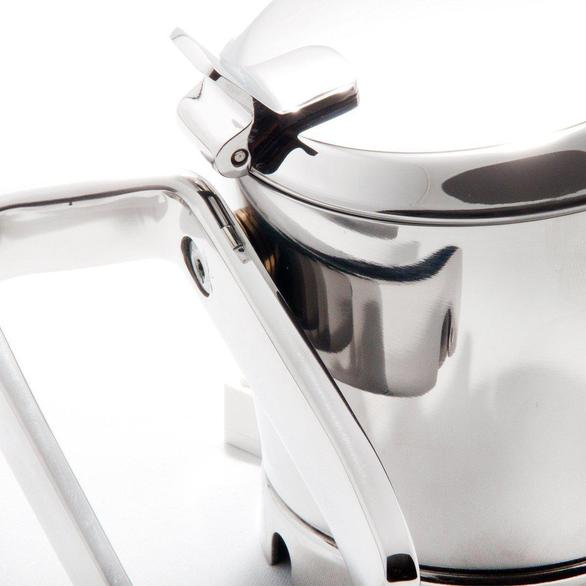 Giannina 1 Cup Stainless Steel Stovetop Espresso Maker Restyled Version