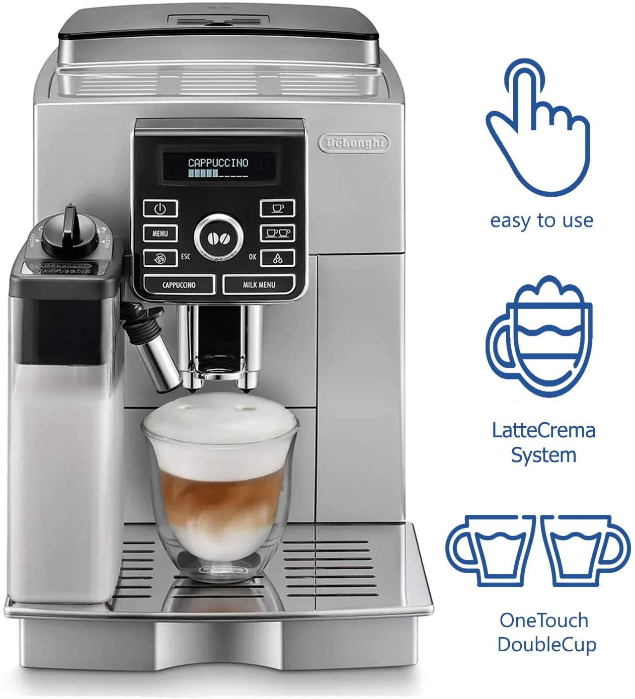 DeLonghi Digital Super Automatic – ECAM25462S
