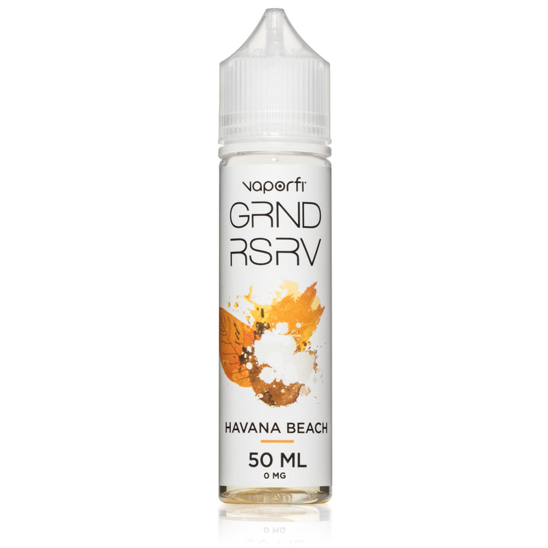 VaporFi GRND RSRV Havana Beach 50ml Short Fill