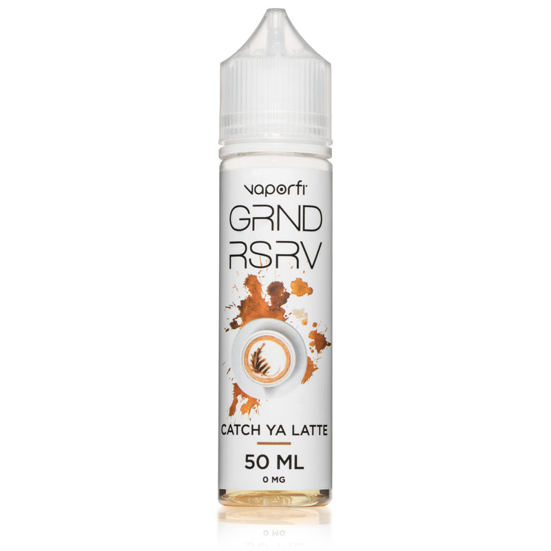 VaporFi GRND RSRV Catch Ya Latte 50ml Short Fill