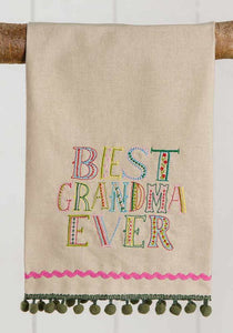 Best Grandma Ever Towel