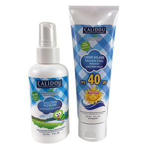 Summer Duo Kit - Essential Protection - Calidou