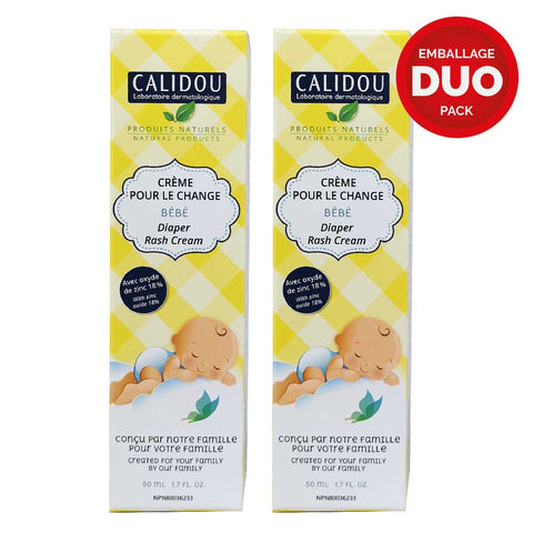 DUO Diaper Rash Cream with 18% Zinc Oxide