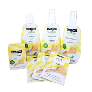 Baby Softness Kit + 1 FREE Bathing Mittain - Calidou
