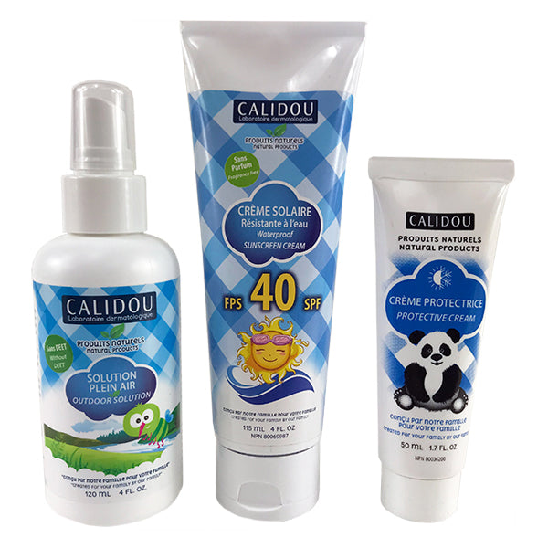 Summer Trio Kit - Complete Protection - Calidou