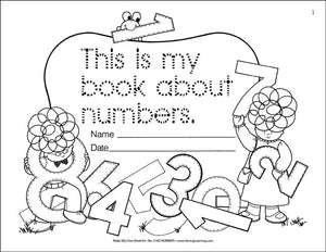 Make My Own Book Kit - Numbers