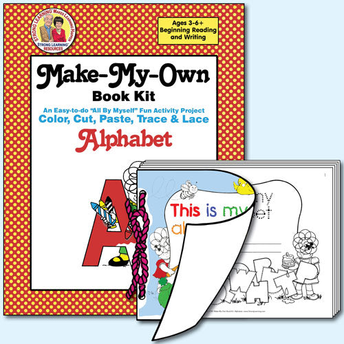 Make My Own Book Kit - Alphabet