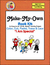 Make My Own Book Kit - I Am Special