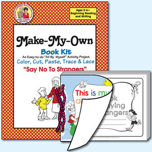 Make My Own Book Kit - Say No To Strangers