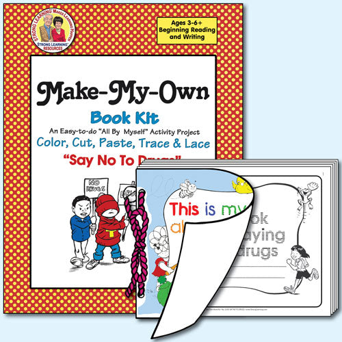 Make My Own Book Kit - Say No To Drugs
