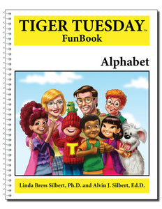 Alphabet Reproducible FunBook - 599 with Teachers Guide