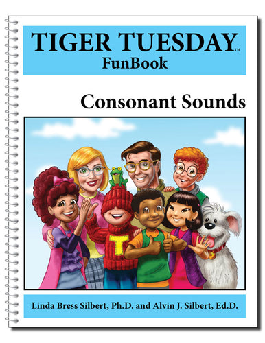 Consonant Sounds FunBook - 600