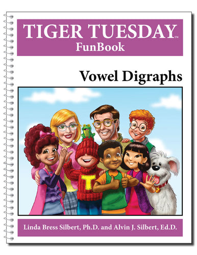 Vowel Digraphs Reproducible FunBook - 603 with Teachers Guide