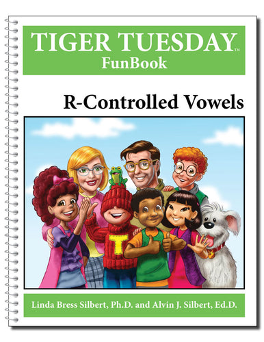 R-Controlled Vowels Reproducible FunBook - 604 with Teachers Guide