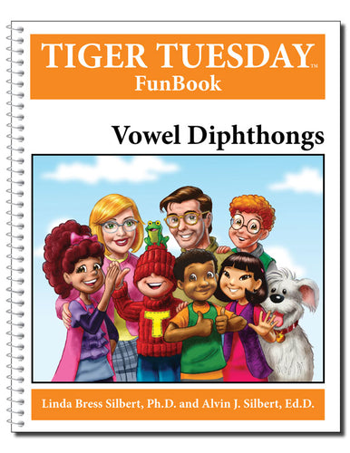 Diphthongs Reproducible FunBook - 605 with Teachers Guide