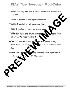 VCE - 9 No Prep Lessons & Activities - Tiger's Mud Cake - Digital Download - 6022D