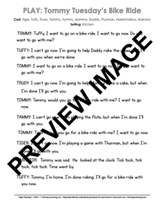 VCE - 9 No Prep Lessons & Activities - Tommy's Bike Ride - Digital Download - 6021D