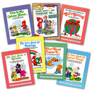 Creative Thinking Workbooks 7-Pack (Grades K-6) A215