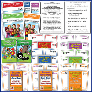 Learn-to-Read Kit-2: Phonics, Decoding & Fluency * SAVE an additional 10% plus FREE US SHIPPING-A576 [Ages 5-11+]