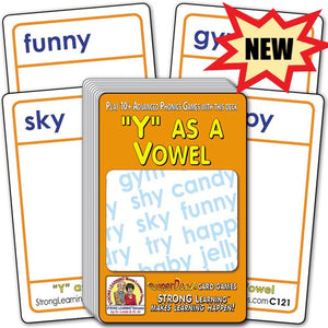"""Y"" as a Vowel (Ages 8-11+) C121"