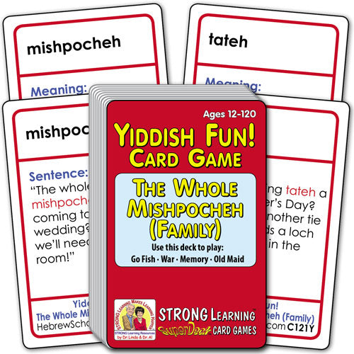 Yiddish Fun! The Whole Mishpocheh (Family) C121Y