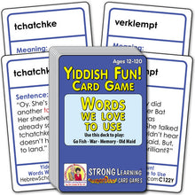 Yiddish Fun! Words We Love to Use C122Y
