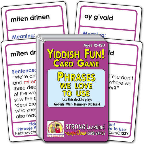 Yiddish Fun! Phrases We Love to Use C123Y