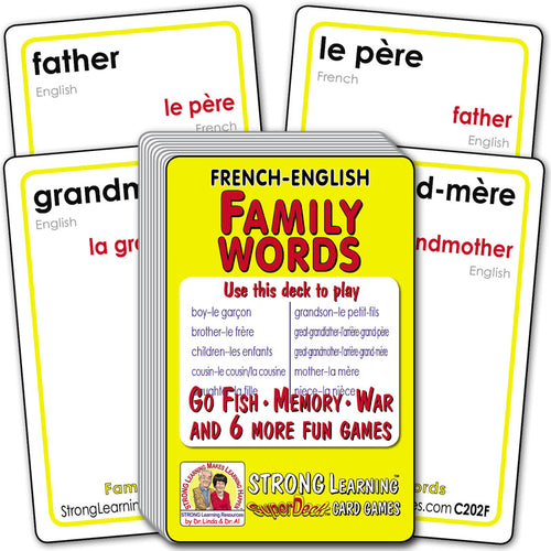 Family Words-French/English C202F
