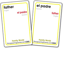 Family Words-Spanish/English C202S