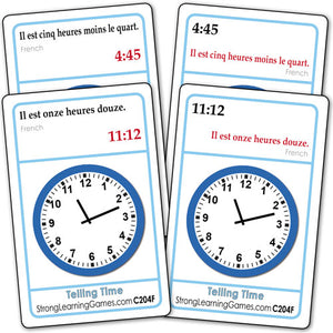 Telling Time-French/English C204F