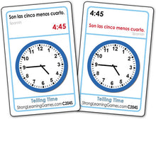 Telling Time-Spanish/English C204S