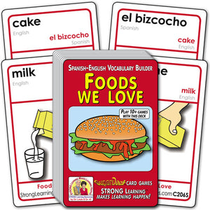 Foods We Love-Spanish/English C206s
