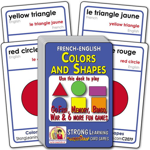 Colors and Shapes-French/English C207F