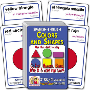 Colors and Shapes-Spanish/English C207S