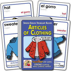 Articles of Clothing-Spanish/English C208s