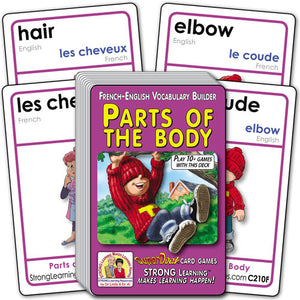 Parts of the Body-French/English C210f