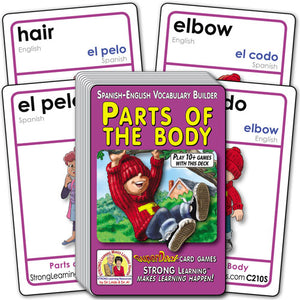Parts of the Body-Spanish/English C210s
