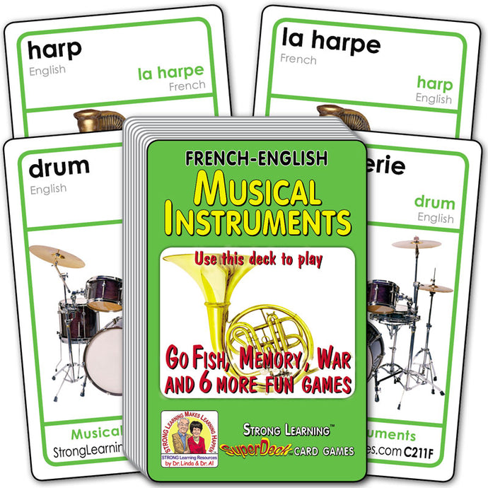 Musical Instruments-Spanish/English C211F