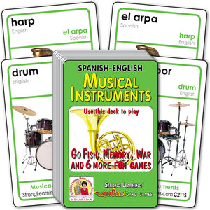 Musical Instruments-Spanish/English C211S