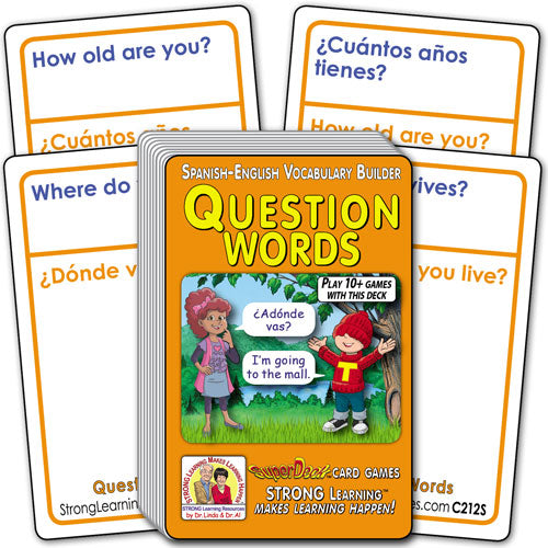 Question Words-Spanish/English C212s