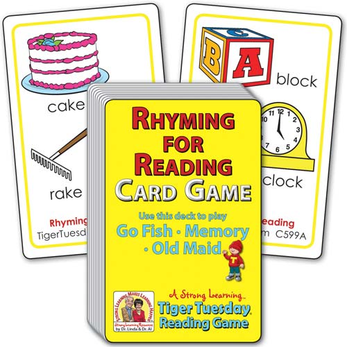 Rhyming for Pre-Readers (Ages 4-5+) C599A