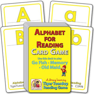 Alphabet for Pre-Readers (Ages 4-5+) C599B