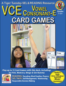 VCE SuperDeck Card Games - SEL, Distance Learning - C602AD