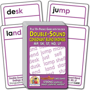 Double-Sound Consonant Blend Endings (Ages 5-6+) C603E