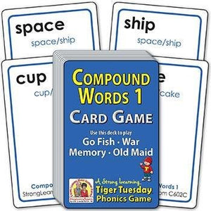 Compound Words 1 (Ages 6-7+) C602C